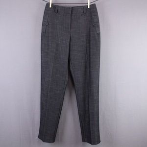 Robert Kitchen Pants Size 4 Gray Womens Career